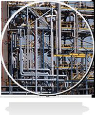 <span>Chimie – pétrochimie – production d'énergie</span>