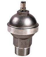 Diaphragm water hammer – stainless steel – male BSP
