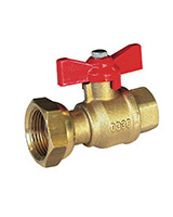 BSP male meter ball valve