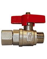 Ball valve for pressure gauge – PN25/40