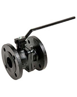 Flanged Cast iron ball valve with flanges