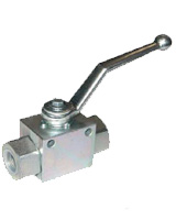 Steel reduce bore high pressure ball valve