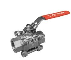 Full bore stainless steel 3 pieces ball valve – BSP female