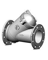 Ball check valve – stainless steel – flanged
