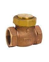 Vertical lift check valve – stainless steel tightness – bronze – female BSP