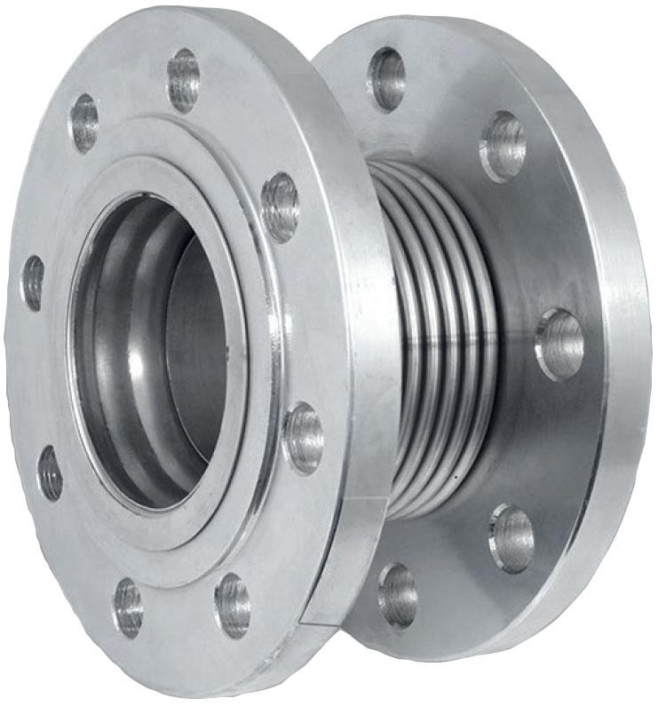 Компенсатор металлический – сталь – фланцевый