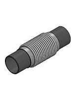 Компенсатор металлический – нерж.сталь – под приварку