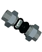 Compensador de caucho PN10 – EPDM – hembra BSP