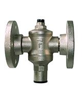 Réducteur de pression PN16 – laiton – à brides