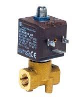 Electroválvula  3/2 normalmente cerrada 1/4″.