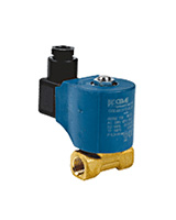 Brass solenoid valve NC – female BSP – fuel oil application
