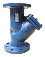 Strainer PN16 – cast iron – flanged – high temperature