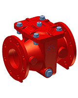 H-strainer PN10 – ductile iron – flanged