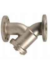 Strainer – stainless steel – flanged