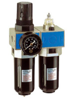 Lubrificator filter + regulator for compressed air