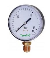 Manomètre à raccord vertical boitier sec