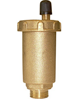 Automatic float air trap PN10 – brass – male BSP
