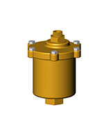 Automatic float air trap PN16 – brass – femelle BSP