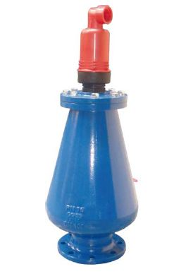 Air release valve triple function for sewage PN16