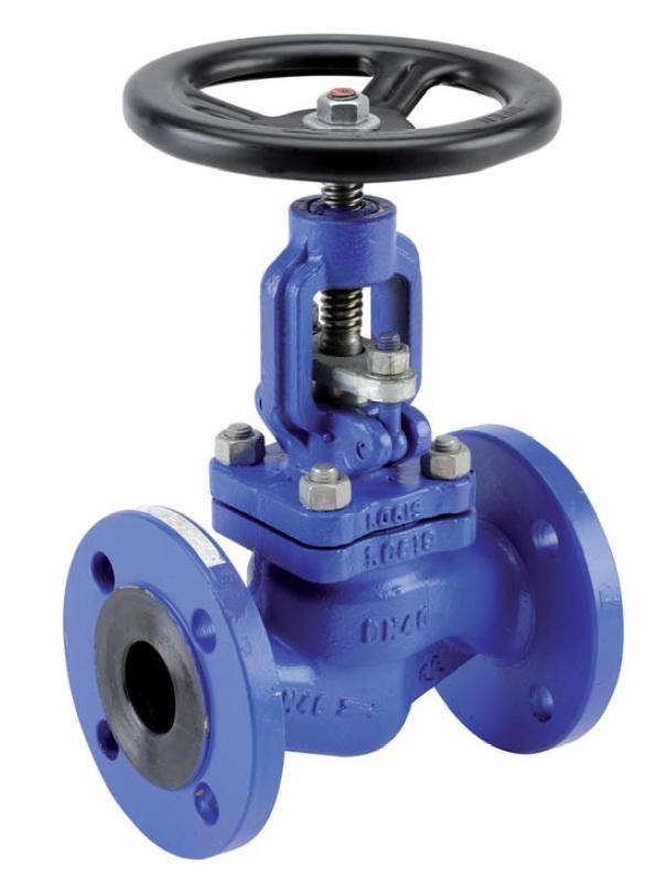 Válvula de globo – acero – PN40