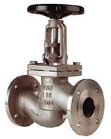 Válvula de globo – acero inoxidable – PN16