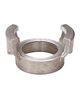 Medio racor aluminio sin bloqueo a racor roscado hembra