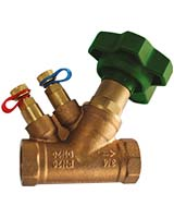 Balancing valve PN20 – bronze – female BSP