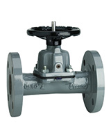 Diaphragm valve – straight type