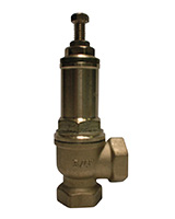 Canalized exhaust safety valve – bronze – male BSP