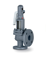 Flanged cast iron safety valves PN16
