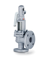 Flanged stainless steel safety valves PN40