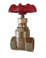 Brass gate valve – female BSP – PN16