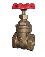 Bronze gate valve – female BSP – PN20