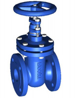 Ductile iron gate valve – flanged – PN16