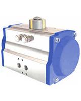 1/4 turn double acting pneumatic actuator