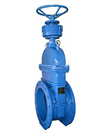 Resilient seat gate valve PN10/16 – short pattern F4 – Gearbox operator