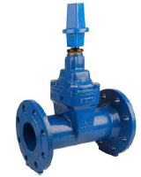 Resilient seat gate valve PN16 – long pattern F5 – Clockwise to close