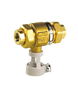 Backflow preventer – uncontrolable different pressure area – brass – female BSP
