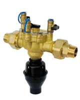 Backflow preventer – controlable reduced pressure area – brass or bronze – male BSP