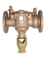 Backflow preventer – controlable reduced pressure area – bronze – flanged
