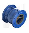 Axial check valves