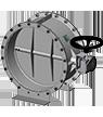 Tecwind-válvula registro de aire