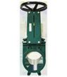 Bidirectional knife gate valve