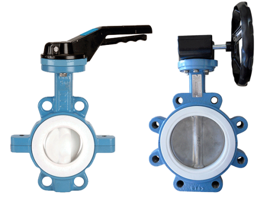 Tecflon – PTFE lined butterfly valve