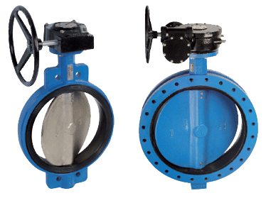 Teclarge - Butterfly valve with flanges