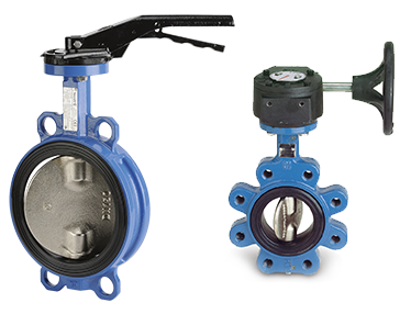Tecfly - Butterfly valve with sleeve