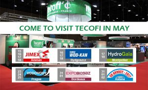 Come to visit Tecofi in May!