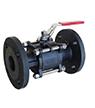Steel ball valves